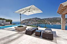 Unique luxury villa with spectacular views of Puerto de Andratx. For sale in Majorca. Nova Mallorca Real Estate Ref. 87488