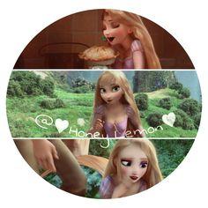 Elsa/Rapunzel icon for anybody just give me credit #RealHoneyLemon