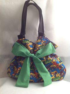 Superman Bag by GenerationGapBags on Etsy