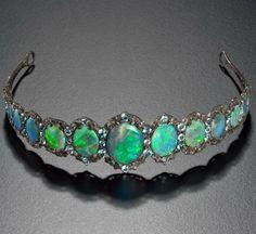 Opal tiara