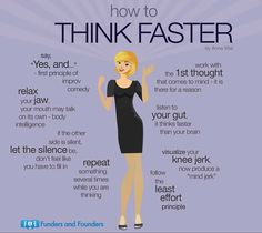 How to Think Faster from How to Have a Simple Life as an Entrepreneur Infographic Self Development, Personal Development, Leadership Development, Communication Skills, Vie Motivation, Sales Motivation, Business Motivation, Think Fast, Self Improvement Tips