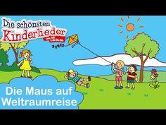 Kinderlieder zum mitsingen - Die Maus auf Weltraumreise | inkl. Songtext - YouTube