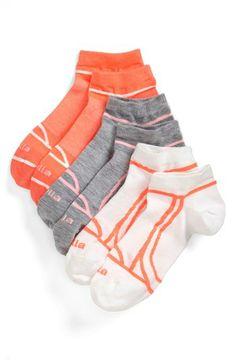 Zella 'Fitness' Liner Socks (3-Pack) | Nordstrom