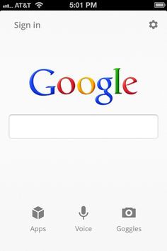 A faster, simpler Google Search app for iPhone | Official Google Blog