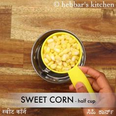 sweet corn soup recipe, sweet corn veg soup, chinese sweet corn soup with step by step photo/video. healthy creamy soup recipe with sweet corn kernels. Creamy Soup Recipes, Corn Soup Recipes, Vegetable Soup Recipes, Falooda Recipe, Chinese Soup Recipes, Sweet Corn Soup, Beetroot Soup, Indian Soup, Veg Soup