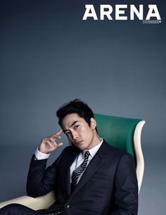 The June edition of Arena Homme Plus will have a flavor of YUM as Song Seung Heon, who's extra delectable dressed in Dior Homme suits, graces its pages. Song Seung Heon, Asian Actors, Korean Actors, Korean Dramas, Korea University, Netflix, Fashion Photography Poses, Korean Wave, Korean Entertainment