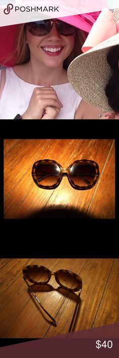kate spade sunnies! Super cute oversized sunnies! kate spade Accessories Sunglasses