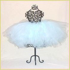 Beautiful Light Aqua Full and Puffy Tutu in Baby to Adult Sizes...