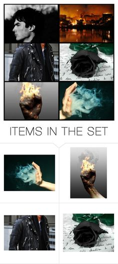 """Damien: Aesthetics"" by batgirl87 ❤ liked on Polyvore featuring art"