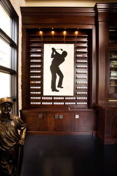 Ball Display, Great Addition To An Office, Bar Or Game Room  #themanshomeforachange #