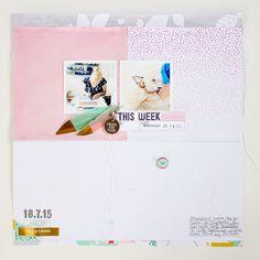 Scrapbooking Layout - Janna Werner