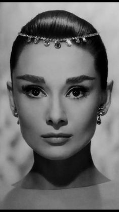 The beautiful, classy actress Audrey Hepburn