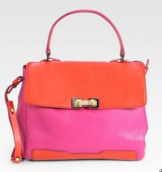 Marc by Marc Jacobs Colorblock Handbag