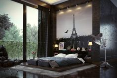 Low-Height-Floor-Bedroom-Designs-That-Will-Make-You-Sleepy-10 Low-Height-Floor-Bedroom-Designs-That-Will-Make-You-Sleepy-10