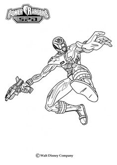 pirate power rangers coloring pages   Pirate Power Ranger Coloring Page for boys   Kids coloring ...