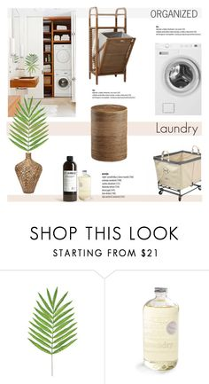 """""""Organized: Laundry"""" by helenevlacho on Polyvore featuring interior, interiors, interior design, home, home decor, interior decorating, Home Decorators Collection, Home, design and decor"""