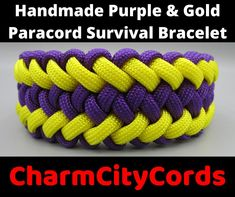 This multi-colored bracelet works both as a survival cord as well as an accessory that complements your day-to-day appearance.  MATCH AND MIX ADVENTURE WITH CLASS! #etsy #paracordbracelet #survivalbracelet #handmadebracelet #unique jewelry