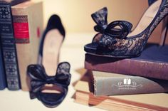 shoes and books