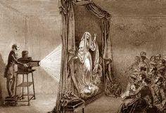 Lanterna Mágica - invenção anterior ao séc. XIX.