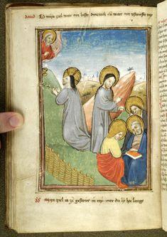 Christ: in Gethsemane | Spiegel van den leven ons Heren and other works | Netherlands, Brabant | ca. 1455 | The Morgan Library & Museum