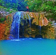 Ahhhhh!! One of my fav places in Haiti!! Cascade Touyak in Port-Salut, south of Haiti.