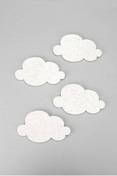 Mini Cloud Cork-Board Set...want.