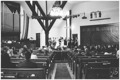 Same Sex wedding ceremony at Hillhurst United Church in Calgary. Photos by Sujata Photography.