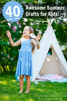 40 Awesome Summer Crafts for Kids!