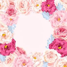 Framed Wallpaper, Flower Wallpaper, Iphone Wallpaper, Flower Picture Frames, Flower Frame, Wallpaper Powerpoint, Cake Logo Design, Flower Silhouette, Cute Frames