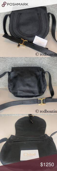 5e6cbc77c Chloe Marcie Medium black Leather Crossbody Bag I purchased this bag for  $1499. Available on