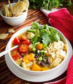 Februari: gezonde vegetarische groentesoep