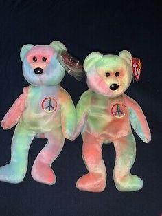peace beanie baby 1996 Retired Beanie Baby Rare  | eBay