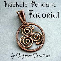 (5) Name: 'Jewelry : Celtic Triskele Pendant