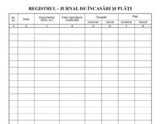 RJIP PFA registrul jurnal de incasari si plati 1, Math Equations