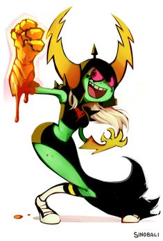 LORD DOMINATOR from Wander Over Yonder Not so quick sketches, She's the bad guy…or girl
