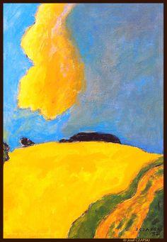 Jozef CZAPSKI - Yellow Cloud, 1982