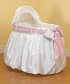Look at this #zulilyfind! Pink 'A Gift for You' Bassinet Set by aBaby #zulilyfinds