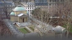 Square Louis XVI is one of the haunted places in Paris. Firstly, Marie-Antoinette and Louis XVI were buried there and according to the city legends their spirits are still revealing themselves at this place. 8th arrondissement. #citylegends #hauntedparis