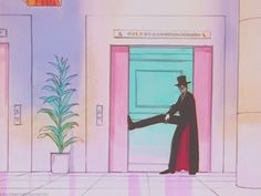 He was really great at appearing casual: | 18 Reasons Tuxedo Mask Is The Most Underrated '90s Dreamboat
