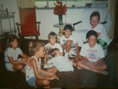 Nathan in the mix with Vanessa and her friends playing Nintendo when it first came out
