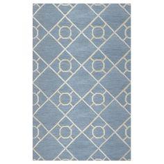 Arden Loft Lisbon Corner Grey/ Ivory Geometric Hand-tufted Wool Area Rug (9' x 12')