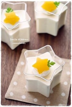 『*Sweets* お星さまのオレンジムース』