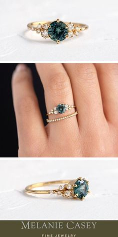 Build your dream sapphire engagement ring!
