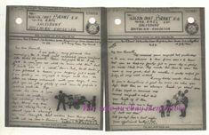 Mr & Mrs Brant lived at 24 Birchden Grove, Kingsbury Lane London. Fruit And Veg, Ww2, Military, London, Ebay, Big Ben London, Fruits And Veggies, Military Man, Army
