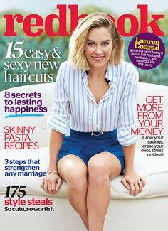 Lauren Conrad Redbook Cover April 2015