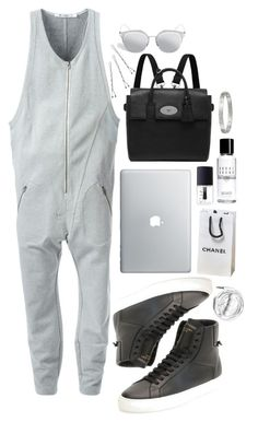 """""""Sweatsuit"""" by alexiabenzo ❤ liked on Polyvore featuring T By Alexander Wang, NARS Cosmetics, Conair, Urbanears, Bobbi Brown Cosmetics, Dior Homme, Mulberry and Givenchy"""