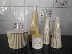 Vintage 1960s Kitchenware/ Hornsea Pottery by looseendsvintage on etsy