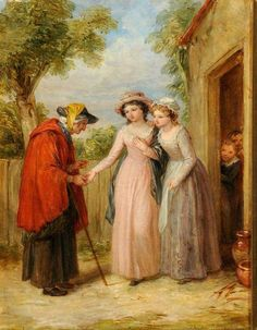 The Fortune Teller William Frederick Witherington (1785-1865)