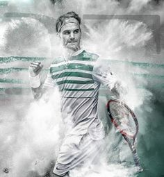 Roger Federer by RS Graphics.