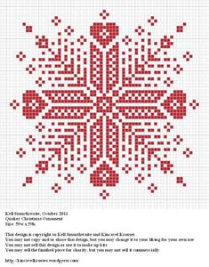 great cross-stitch chart to use for filet crochet - pocket maybe...